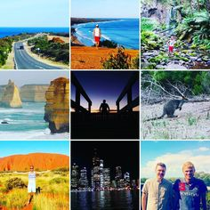 This is the end of of an exceptional travel around Australia! Melbourne the Great Ocean Road  Geelong  Torquay  Lorne  Appollo Bay  Warrnambool Port Fairy Portland Bells Beach  the Waterfalls the Twelves Apostates Alice Springs  the Australian outback  Uluru  Ayers Rock Brisbane Noosa the Sunshine Coast the Rain Forest... and so many again!! What a beautiful country full of differents cultures and landscapes! After 15000 km by plane  2500 km by car and 200 km by foot  it's time to say bye…