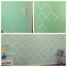 Paint Bedroom Seafoam Green Colors My Mint Green Bedroom Accent Wall  Freehand Painting