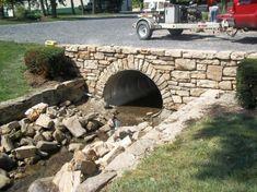 Various stone jobs: Culvert craftsman-