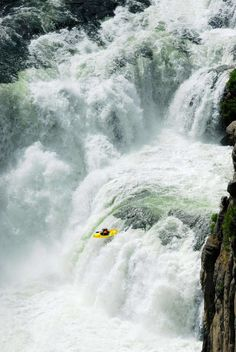 Kayaking in Chili... I have always wanted to go white water rafting... but I want to enjoy myself, not be fighting for my life! js
