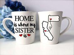 Sisters Mug  Sisters Gift  Sister Coffee Mug  by PrettyProposal