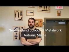 YouTube Video - American Bladesmith Society Introduction to Bladesmithing Class at the New England School of Metalwork, Auburn, Maine. For more information Contact Dereck Glaser at (888) 753-7502 or dglaser@newenglandschoolofmetalwork.com
