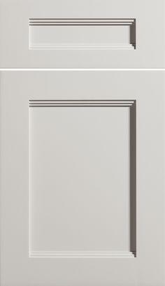 "Glass Cabinet Door Styles dura suprem cabinetry ""dalton"" cabinet door style shown in"