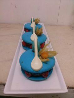 Macarons biruful