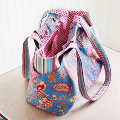 Change-Your-Mind Slipcover Bag - ePattern by Straight Stitch Society