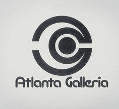 Atlanta Galleria logo #retro #logo #design