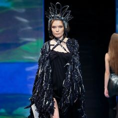 @Regrann from @igladesign -  #Адмиралтейскаяигла #АИ  #Адмиралтейская_игла #АИ_2014 #фотограф_Eco_Geometria_ru #дизайн #fashion #конкурс #мода #эксклюзив #креатив #студенты #образование  #Русский_стиль #Regrann  Адмиралтейская Игла 2014 #черныйлебедь #black Goth, Style, Fashion, Gothic, Swag, Moda, Fashion Styles, Goth Subculture, Fashion Illustrations