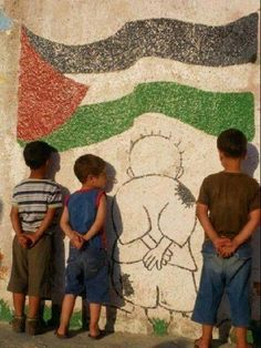 Palestinian children are denied freedom and dignity by Israel's system of apartheid and ethnic cleansing. Zine, Heiliges Land, Israel Palestine, Famous Cartoons, Street Art, Photos, Culture, Children, Apartheid