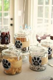 Puppy chow, Cute ideas fro a dog/ puppy party. Cute for kids birthday or dog shelter fund raiser, Dog Themed Parties, Puppy Birthday Parties, Birthday Treats, Dog Birthday, Birthday Party Themes, Dog Themed Food, Dog Parties, Parties Food, Adoption Party