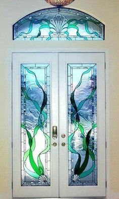 Stained Glass Door by LadyMoore ♥