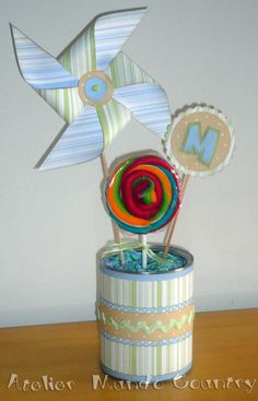 Tays Rocha: Pinwheel - Festa de cataventos #party #pinwheel #scrapbooking