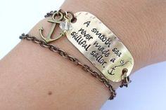 Smooth Sea Chain Bracelet