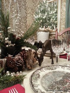 House and Home Defined: Christmas Dining Room Inspiration