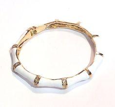 Crystal Bamboo Bracelet