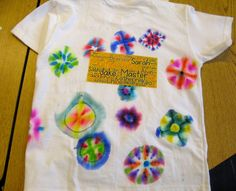 Tie-Dyeing Keepsake T-Shirts the Clean and Easy Way