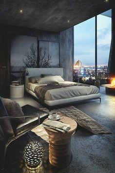 cool Modern rustic? #interiordesigninspiration #decorationideas #interiordesigner int...