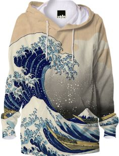 Great Wave Hoodie - Available Here: http://printallover.me/collections/sondersky/products/0000000p-great-wave-4