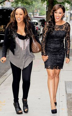 Rockstar-chic and Hollywood glam. These girls have got it goin' on. #StyleNetwork #TiaAndTamera