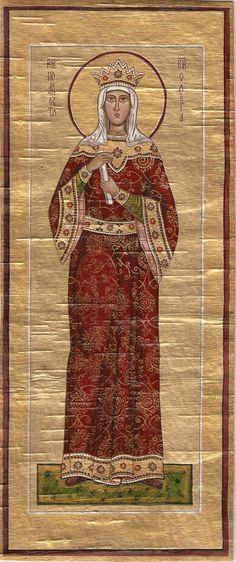 икона Равноапостольной княгини Ольги