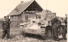 "bmashina: "" Pz.Kpfw.38(t), Ostfront presumably, summer 1941. """