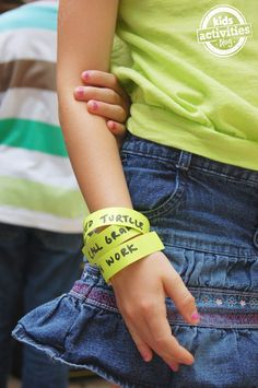 Chore Bracelets for Kids - Kids Activities Blog I think I need these lol Second Grade, 4 Kids, Cuff Bracelets, Mom, Learning, Ideas, Activities For Kids, Kid Stuff, Forget
