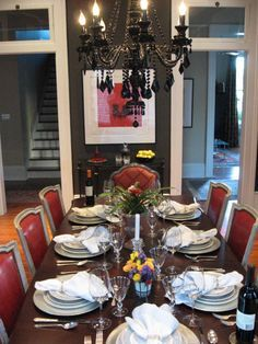 new orleans interior design ideas | New Orleans style! - Dining Room Designs - Decorating Ideas - HGTV ...