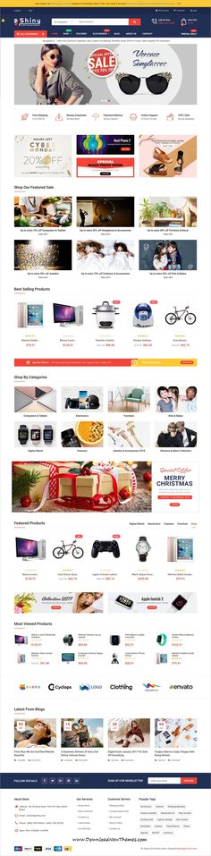Shiny is clean and stylish and modern design responsive #Prestashop theme for stunning #eCommerce #shopping website to live preview & download click on image or Visit 👆 #websitedesign