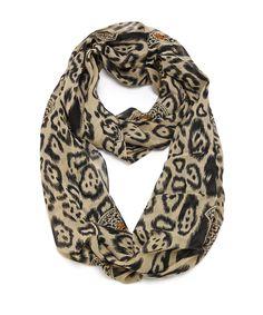 Eastern+Cat+Infinity+Scarf+-+Leopard+#shoplately