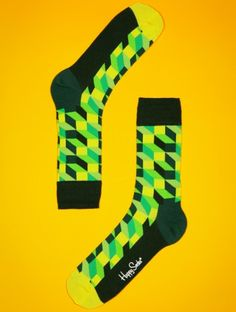 Happy Socks Optic http://prettify.ch/happy-socks-optic-3d-geometrische-socken-002 #socks #women #fashion
