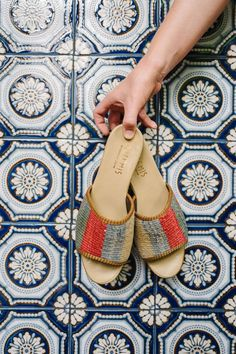 Our collection with Artemis Design Co is live! Each pair of summer sandals is created from vintage kilim rugs sourced from Morocco and truly one of a kind! Shop it now!