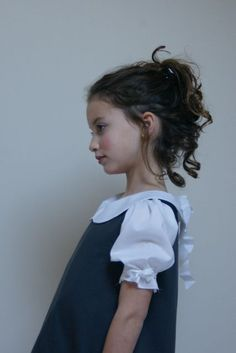 Peter Pan collar dress - L atelier de Marie et Rose Alice