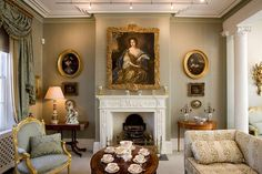 georgian drawing room cornice - Google Search