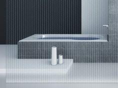 Transparent glass texturized for Led lighting MADRAS® PUNTO-NL CRISTALLI by Vitrealspecchi