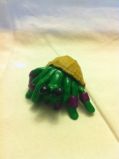 $6.50 Clay hermit crabs!