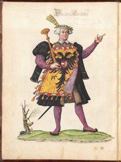 Ehrenspiegel des Hauses Österreich (Buch VII) - BSB Cgm 896, Augsburg, 1559