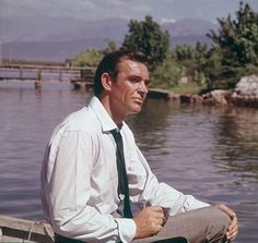 Sean Connery portrays James Bond in Dr. No (1962)