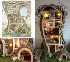 brambly hedge treehouse - this one's for you Heather ;)