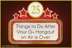 What you do after your Hangout on Air is over is just as important as the promotion, preparation, and actual event itself. If you are calling it quits when your HoA is finished, you are missing out on the power of repurposing that content to build community, generate leads, and grow your followers and traffic.