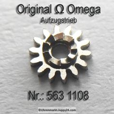 Omega Aufzugstrieb Part Nr. Omega 563-1108 Cal. 563 564 565 750 751