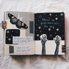 Tips, ideas, and tricks, that will help you get started right away with your own art journal! journal pages ideas Art Journal Inspiration Art Journal Pages, Album Journal, Bullet Journal Writing, Scrapbook Journal, Bullet Journal Ideas Pages, Bullet Journal Inspiration, Art Journals, Visual Journals, Artist Journal
