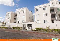 Paisagismo do Umbria. Condomínio fechado de apartamentos localizado em Uberlândia / MG.