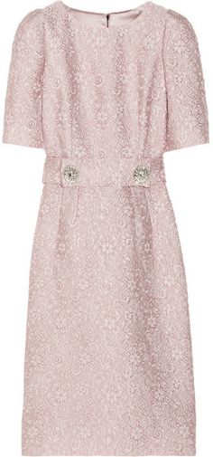 Dolce & Gabbana Belted jacquard dress   #Chic Only #Glamour Always