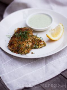 fish with dill sauce