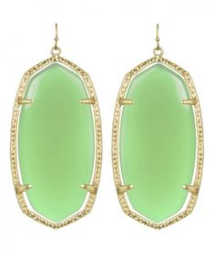 I should have taken advantage of the sale. I LOVE these earrings and the mint color.