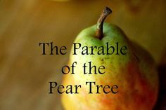 The Parable of the Pear Tree: Finding Joy in the Every Season Slide pictures for video presentation Relief Society Lessons, Relief Society Activities, Family Home Evening, Family Night, Fhe Lessons, Object Lessons, Scripture Study, Bible, Visiting Teaching