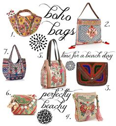 Boho Chic Clothing; Boho Bags