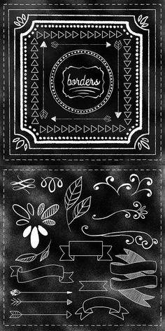 Free Chalk Lettering Templates, Chalk Brushes, & Fonts for Procreate – I've be…