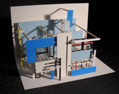 Schroder House- Gerrit Rietveld