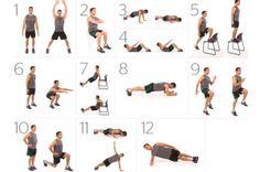 Rutina de ejercicios para bajar de peso para hombres