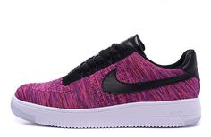 Nike Air Force 1 Flyknit Low Purple Hot Runing Shoes #Nike #RunningCrossTraining